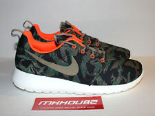 New Nike Roshe Run Print Tiger Camo Rosherun gpx fb 2 green Shoes Size 11