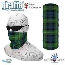 Gordon Clan Scottish Tartan Multifunctional Headwear Neckwarmer Snood Bandana