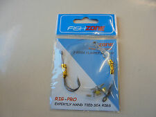 fishzone 2 hook flapper rig size 3/0.