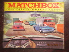 1969 Matchbox Cars Catalog VERY NICE ! King size Models of Yesteryear Gift sets