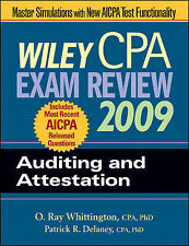 Wiley CPA Exam Review 2009: Auditing and Attestation (Wiley CPA Examination Revi