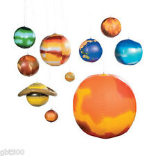 Inflatable SOLAR SYSTEM Galaxy Planet Planets Science Classroom Decor Teacher