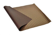 Brown 'n' Golden Polka Dots and  Stripes, Reversible,  Italian Wrapping Paper