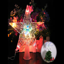 Colorful Changing Xmas Christmas Tree Star Light Party LED Lamp Decoration