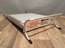 LITTLE GIANT LADDER WORK PLATFORM MODEL 10104 ALUMINUM/METAL ACCESSORY WING