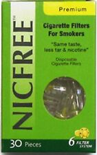 NICFREE Cigarette Filters & Holders Remove Tar & Nicotine 1 Pack (30 Filters)
