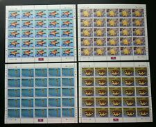 Marine Life V Malaysia 2001 Coral Fish Underwater Shell (sheetlet) MNH *rare