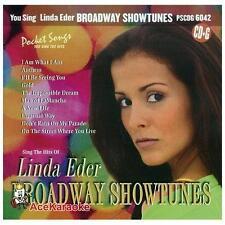 POCKET SONGS YOU SING LINDA EDER ~ BROADWAY SHOWTUNES ~ CD + G  BRAND NEW