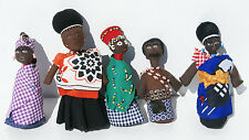Traditional Handmade African Doll, Tribal Art Tribe Cultural Decor of Swaziland