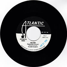 WILSON PICKETT-ATLANTIC 2320 PROMO CANADIAN NORTHERN SOUL 45RPM  634-5789  M-