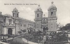 Peru, Lima, Iglesia de San Francisco de Asis, um 1910
