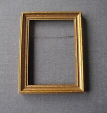ANTIQUE DECORATED GOLDEN WOODEN PICTURE FRAME   #4