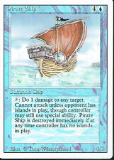 MAGIC THE GATHERING REVISED BLUE RARE PIRATE SHIP