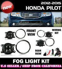 12 13 14 15 HONDA PILOT Fog Light Driving Lamp Kit w/ switch wiring (CLEAR)