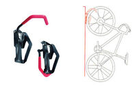 Bicycle bike wall mount hook stand tire hanger storage display indoor city cycle