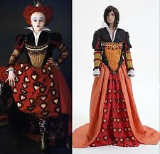 Tim Burton's Alice In Wonderland Red Queen Dress Costume *Tailored*