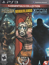Brand New 2K Essentials Collection - PS3 - Bioshock, XCOM, Borderlands