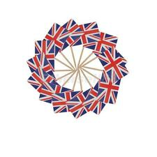 50Pcs British Country Flags Picks Paper Toothpick Food Fruit Drinks Decor