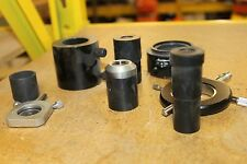 LOT OF 8 MICROSCOPE PARTS ZEISS