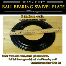 1 pc - 8 inch (205mm) Full Ball Bearing Swivel Plate Lazy Susan Turntable