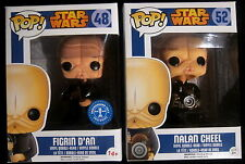 STAR WARS - Nalan Cheel + Figrin D'An (Limited) 2 Vinyl Figuren - Funko Pop!