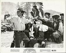CLINT EASTWOOD IS HAVING TOO MUCH FUN IN PAINT YOUR WAGON ORIG FILM STILL #5