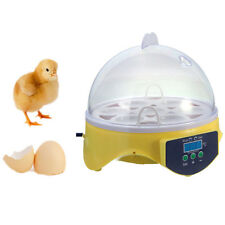 Chicken Duck 7 Egg Incubator Digital Clear Temperature Control Duck Bird 110v