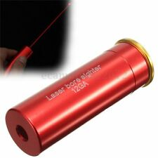 Red Dot Laser Sight Rail Mount Scope 12Gauge Barrel Boresighter Per 12GA Caliber