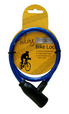 Bike Lock Cable Cycle Strong Small Safety Gone Biking Accessory With 2 Keys
