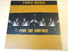 EX/EX- !! Pablo Moses/Pave The Way Dub/2000 Walboomers LP