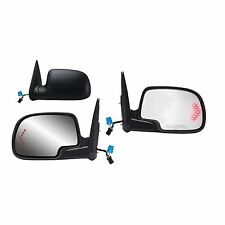 New Power Heated Side Mirror PAIR w/Signal FOR 2003-2006 Chevy Silverado/ Tahoe