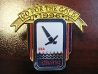 U.S. Diving Sports Federation 1996 Go For The Gold Pin