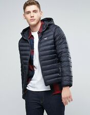 NWT Hollister By Abercrombie & Fitch Mens Lightweight PufferJacket Outerwear S