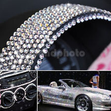 504Pcs Car Auto Interior Exterior Sticker Bling Crystal Design Rhinestone 6mm
