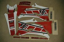 FLU  RETRO TEAM  GRAPHICS YAMAHA YZ250F YZ450F YZF250 YZF 2006 2007 2008 2009