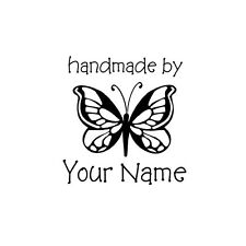 PERSONALIZED  CUSTOM MADE SCRAPBOOK NAME RUBBER STAMPS UNMOUNTED H56