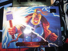 CARTE MARVEL MASTERPIECES GOLD FOIL SERIES 1994 N° 125 THUNDERSTRIKE MINT CARD