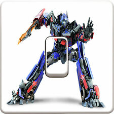 Transformers Light Switch Vinyl Sticker Decal for Kids Bedroom #326