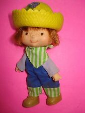 Vtg Kenner 80s Strawberry Shortcake DOLL & CLOTHES Lot HUCKLEBERRY PIE w/ HAT