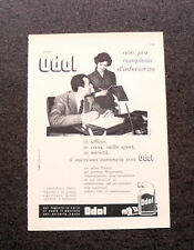 L599- Advertising Pubblicità -1957- ODOL DENTIFRICIO LIQUIDO E IN PASTA