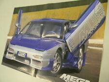 Q64 Poster Nissan Megatuning   retro Sina   Maxi tuning-