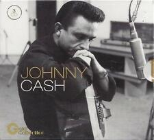 3 CD Box ♫ Compact disc **JOHNNY CASH ♦ GOLD COLLECTION** Nuovo Triplo + Libro