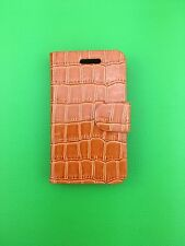 LUXURY PU YELLOW LEATHER CASE for Samsung Galaxy Ace GT-S5830/GT-S5830i UK POST