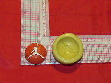 Basketball air Jordan silicone push mold 263 For Craft Cake Pop Resin Fondant