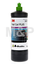 3M FAST CUT PLUS GREEN TOP COMPOUND POLISH 1KG BOTTLE PERFECT IT 3
