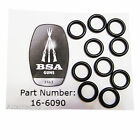 10 x BSA Buddy Bottle O Ring Seals for R10 and Super 10/S10 BSA Part No: 16-6090