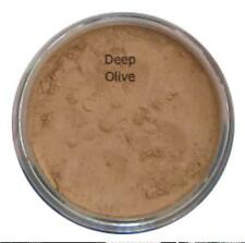 Mineral Foundation DEEP MEDIUM OLIVE Bare Natural Acne Cover Full Coverage