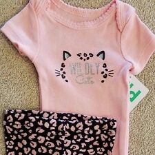 SWEET! NEW BABY CHILD OF MINE BY CARTER'S PREEMIE 2PC WILDLY CUTE OUTFIT REBORN