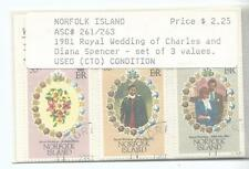 1981 Royal Wedding Charles & Diana CTO in envelope as purchased in 1980's
