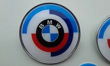 BMW old Motorsport emblem badge logo 1PCS 82mm or 74mm m3 m5 Seria 1 3 5 7 x5 x6